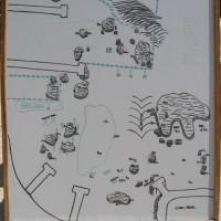 Tauchplatzkarte Werner Lau (größerer Bereich der Bucht), Mai 2007