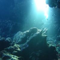 Unterwasserhöhle, Mai 2007