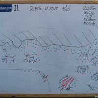 Tauchplatzkarte, Mai 2007