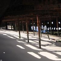 Blick durch's Wrack, September 2006