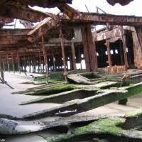 Das Innenleben der Maheno, September 2006