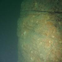 Ein Felsvorsprung, März 2006