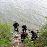 Gruppenklettern am Seezeichen 24, April 2002