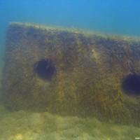 Was man hier so alles unter Wasser sehen kann, Mai 2005