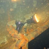 Bug des Schiffwracks, Oktober 2005
