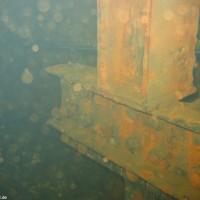Stahlträger der Außenwand, Oktober 2005