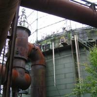 Aufzug des Tauchturms, Oktober 2005