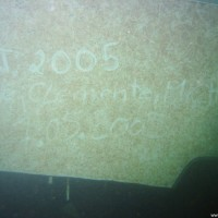 Hier die komplette Inschrift - 'Joe, Clemente, Micha 7.05.2005', Mai 2005