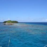 Insel Motu Horahora, September 2005