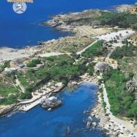 Überblick über die Bucht von Kalithea