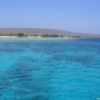Blick auf Menjangan Island, September 2007