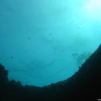 Der zweite Ausgang nach oben der unteren Höhle, September 2005