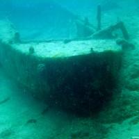 Ruderboot-Wrack, Juli 2002