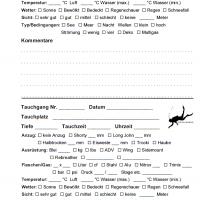 iQ Logbook M / sub-base Logbuch - 2 Tauchgänge pro Seite v3