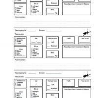 PADI Adventure Log / iQ Logbuch L - 3 Tauchgänge pro Seite v1