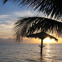 Sunset an der Sunsetbar, Juli 2003