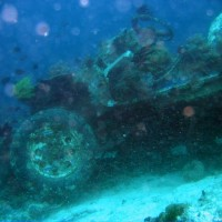 Das Jeepney Wreck, März 2004